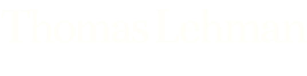 Thomas Lehman, baritone